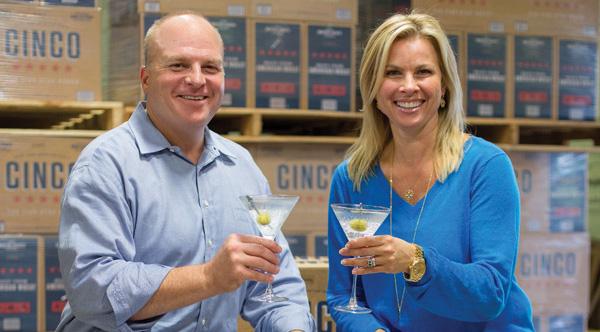 Local Entrepreneur Tastes Success with Cinco Vodka