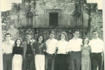 Class Officers at Alamo 1949