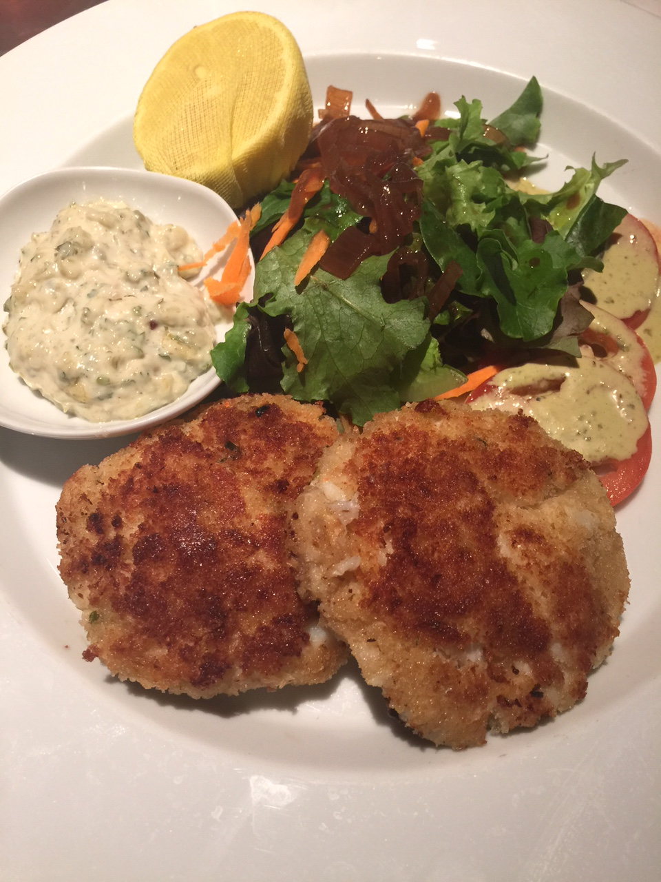7820 9 July 2015 Wine Dine Crab Cakes