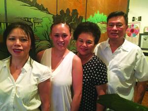 78209 August 2015 - Wine & Dine Su Yueh Hamilton, Charlin Yu, Hsiu Yu, John Yu