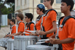 78209 Sept 2015 Witte HEB Lantern Launch Madison High School Drum line