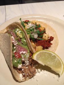78209 Oct 2015 - Flair - Puerco Al Pastor Taco and Carnitas Taco