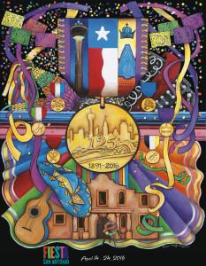 125th Fiesta Poster 2016