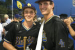 78209 July 2016 Sports News AHHS Baseball Team Members Ray Flume and Forrest Whitley Whitley just recruited by Houston Astros