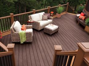 Ci Trex Transcend Deck outdoor wicker furniture h