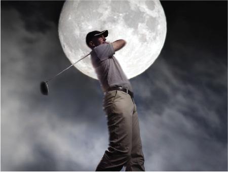 GolferAtNight