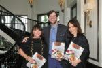Chair Caroline Schupbach chef James Farmer and co chair Lisa Sechler at Gourmet Soirée