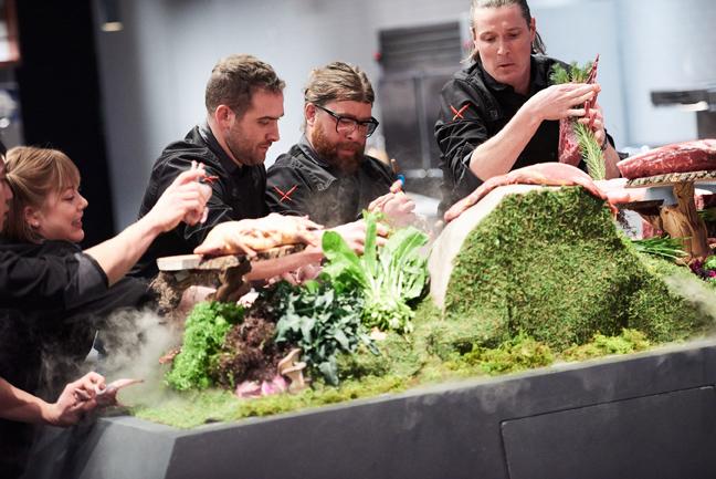 14 iron chef gauntlet competitors 32 HR