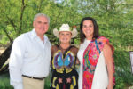 Tom Kelly founder Susan Naylor and Adrianne Frost at The Last Roundup