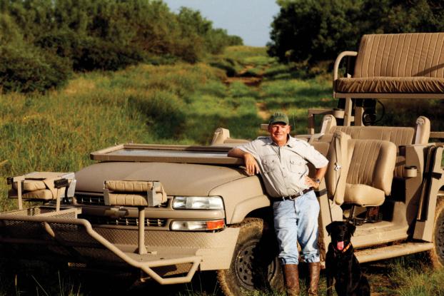 Saunders hunting car