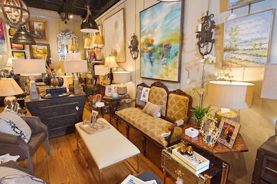 5 Broads Off Broadway store interior