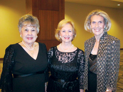 Board president Betty Ferrell Sherry Satel and Beverly Purcell Guerra
