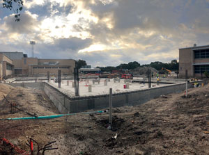 Alamo Heights Commons construction
