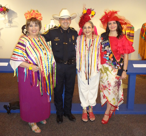Elizabeth Ruiz Sheriff Javier Salazar honoree Graciela Carillo and Sarah Salazar