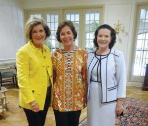Carolyn Johnson Barbara Wood and Ellen OGorman