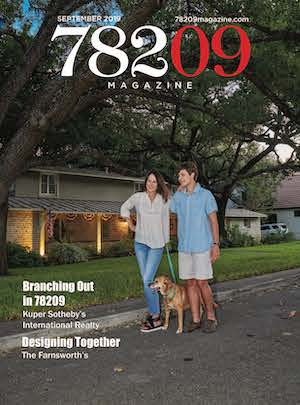 Cover of the September 2019 issue of 78209 Magazine