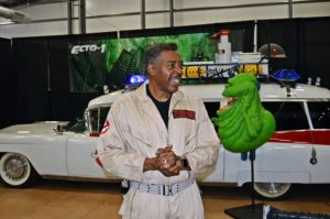 If you saw the famous ECTO 1 Ghostbuster's car then you might have also caught a glamps of Ernie Hudson
