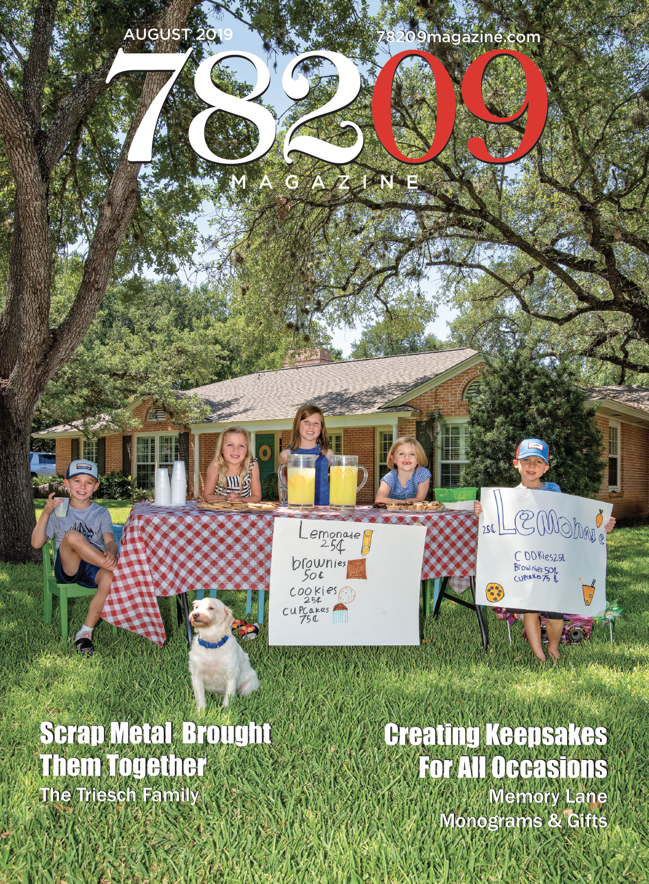 Cover of the July 2019 issue of 78209 Magazine