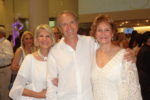 Janet and Rob Holliday with Anne Folkes