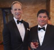 Leland Stone and honoree Tony Davila 1