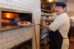 Pizza maker at Piatti in the Quarry