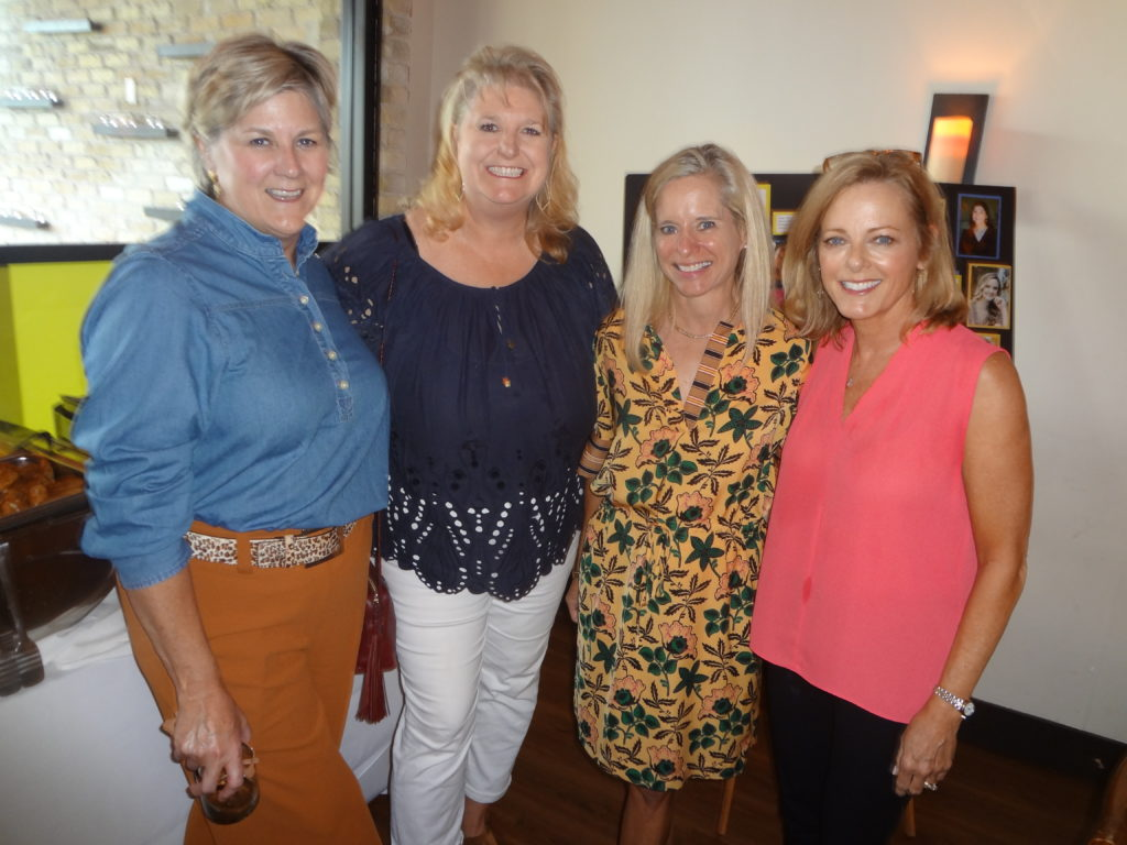 Amy Hawk Keitha Clayton Susie Patterson and Judy Kruger