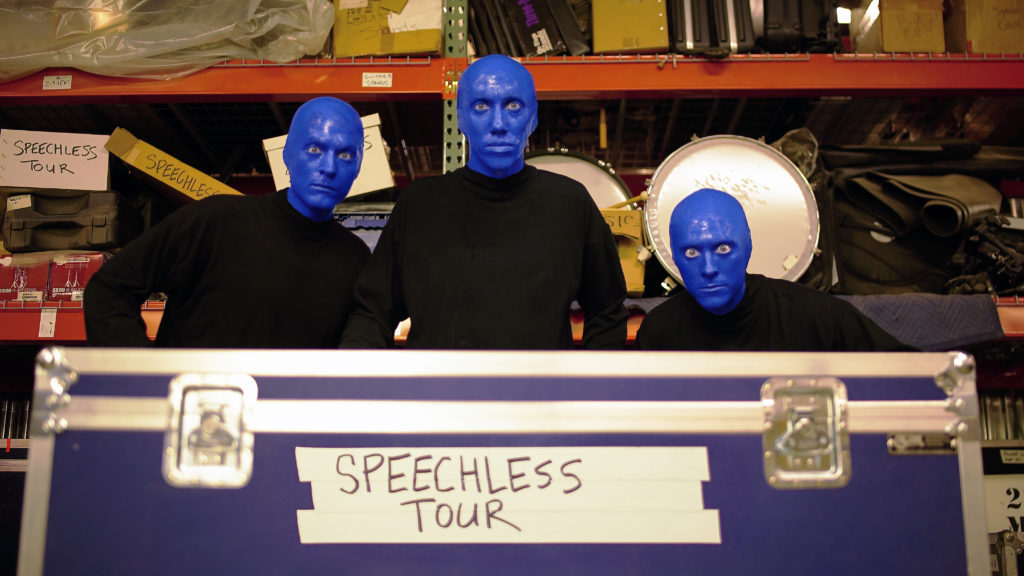 Blue Man Group Speechless Tour 2