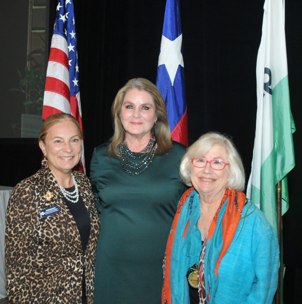 CEO Girl Scouts of Southwest Texas Angie Salinas honoree Mary Rose Brown and Jane Macon