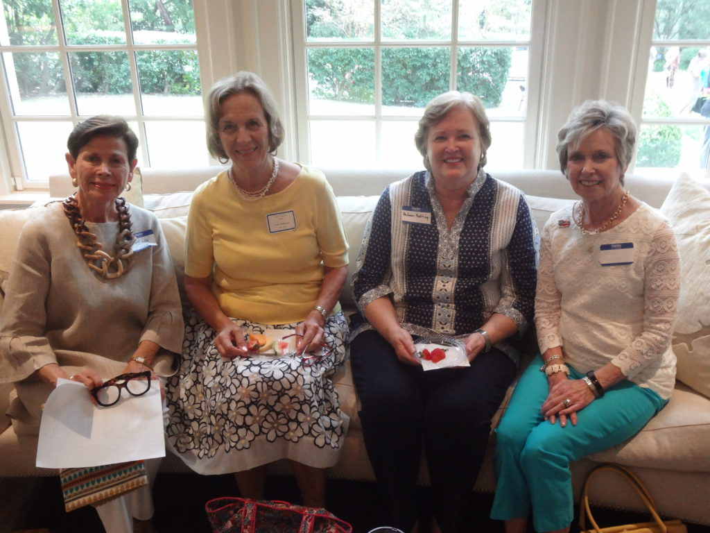 Mary Lou Vielock Sudie Holshouser Pauleen Netting and Sue Dullnig