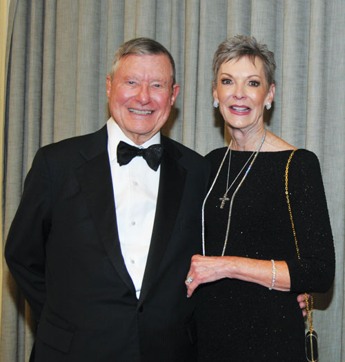 Honorees Ronald and Karen Herrmann