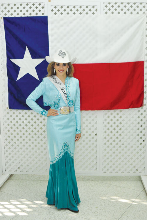Miss Rodeo Texas Teen Ashlyn Williams