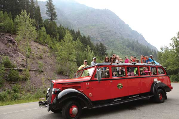 Montana Red Bus