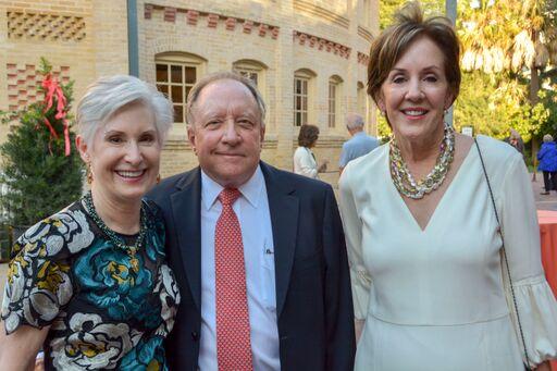 CAM boaard chair Grace Labatt and Robert Swartz with event co chair Susan Kerr