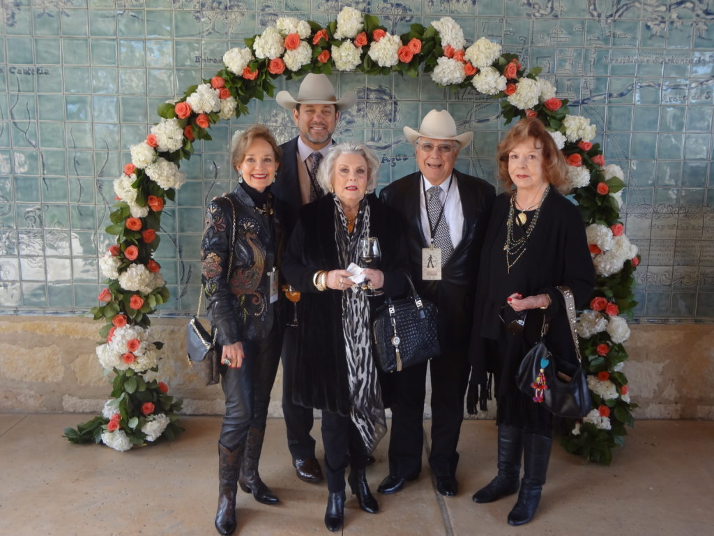 Delia Light SA Stock Show Rodeo CEO and executive director Cody Davenport Ginger Kincaid Dick Evans and Pepper Kinzer