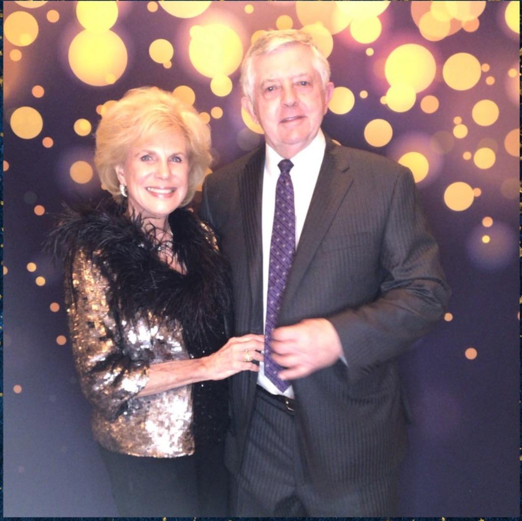 Dr Bill Gordon with wife Pat Gordon