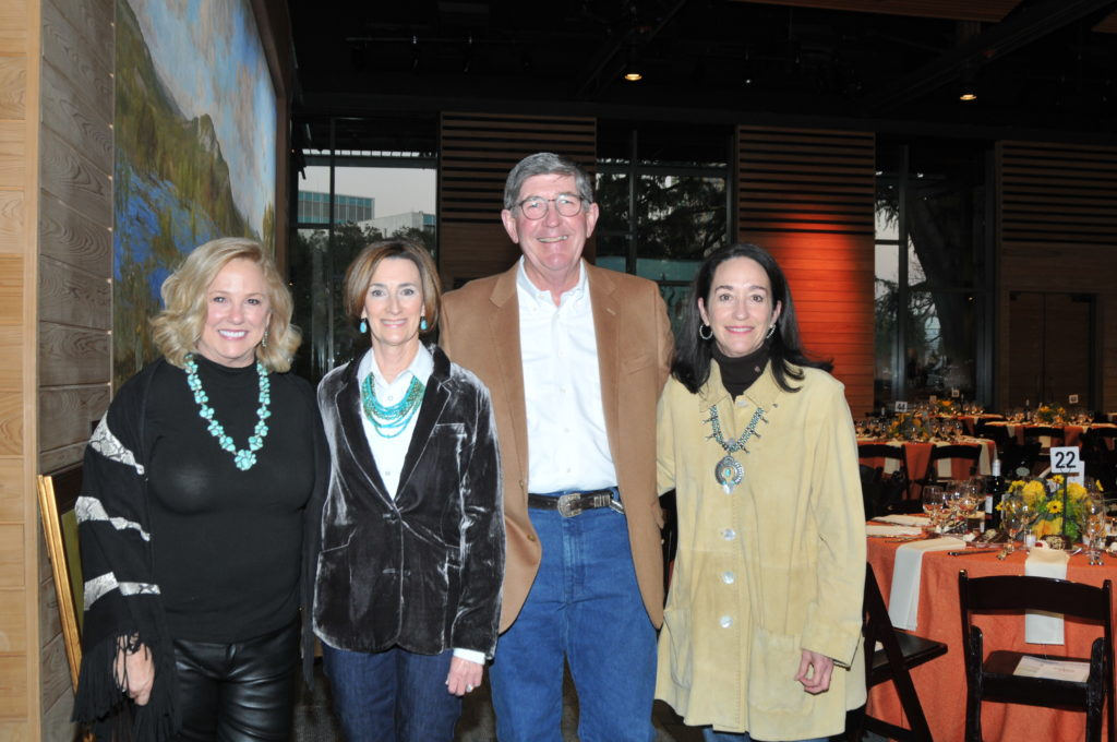 Lee Ann Hendry chairs Paul and Laurie Bracher and president and COO Carol White