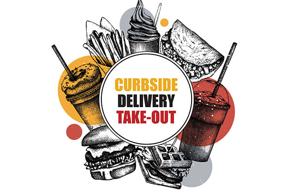 Curbside, Delivery, and Take-Out