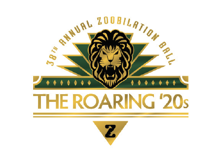 Logo for the San Antonio Zoo's Zoobilation Ball 2020