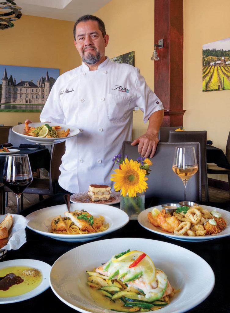 Chef Alex at Pesto Ristorante