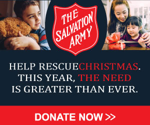 TSA Web Banners 300x250 RescueChristmas Donate Now